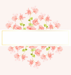 decorative banner art background beautiful vector image