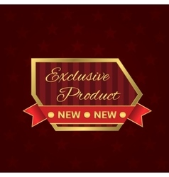 Exclusive product label vector