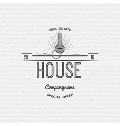 House real estate insignia and labels for any use vector