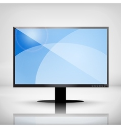 Plasma TV vector image
