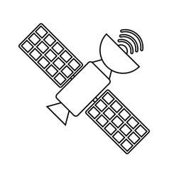Satellite antenna communication wireless line vector
