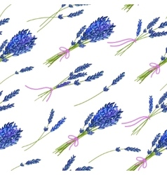 Seamless pattern with hand drawn floral elements vector