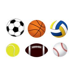 Set balls vector