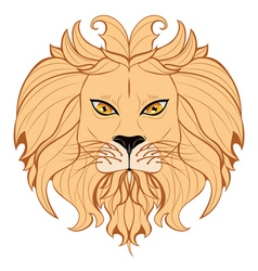 Stylized Lion Head4 vector