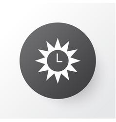 Azan icon symbol premium quality isolated clock vector
