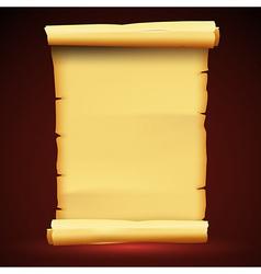 Parchment Paper Antique Background vector image