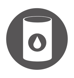 oil fuel industry isolated icon vector image