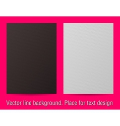 line background Place for text design vector image