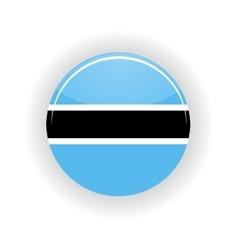 Botswana icon circle vector image