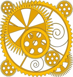 Mechanism drawing vector