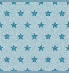 blue denim starry jeans seamless pattern vector image