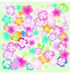 background flower abstract design floral plant vector image vector image
