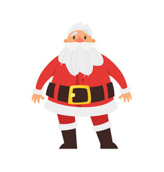 christmas new year santa claus vector image