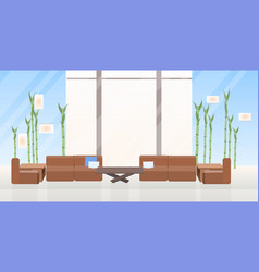 empty no people creative co-working center vector image