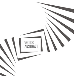 Geometric Black and White Background vector