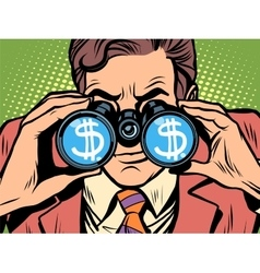 Monitoring the currency dollar exchange rate vector