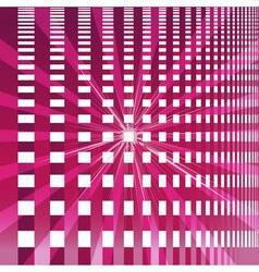 Ray checkerboard theme purple background vector