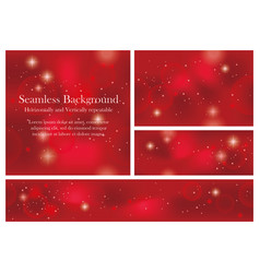 set seamless abstract backgrounds vector image