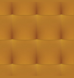 gold buttoned leather seamless pattern vector image