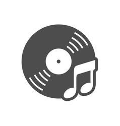 Audio cd music simple icon design vector