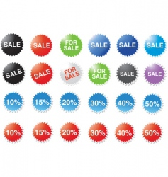 candy price stickers vector image
