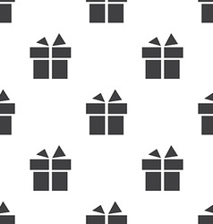 Gift seamless pattern vector