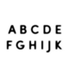 halftone alphabet font dot letters vector image