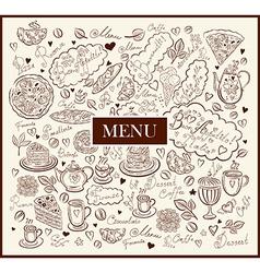 Pattern menu vector