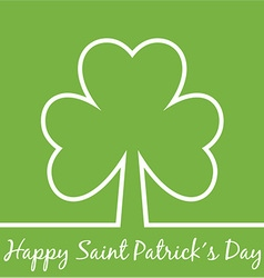 Saint Patricks Day Poster vector