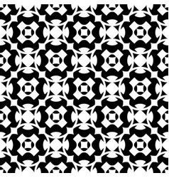 Seamless pattern geometric ornament vector