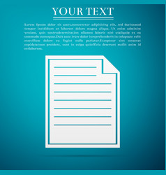 document icon isolated vector image