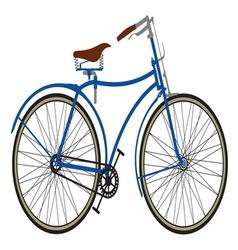 Retro bike2 resize vector image vector image