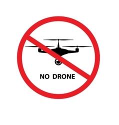 No drone background vector image