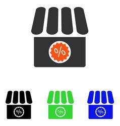 Drugstore sale flat icon vector