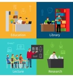 Education concepts vector