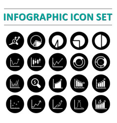 Infographic icon set vector