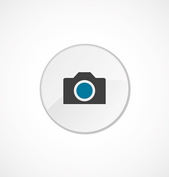 camera icon 2 colored vector image