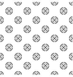 gun aim pattern seamless vector image