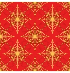 Pattern on a red background vector