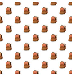 School bag pattern vector