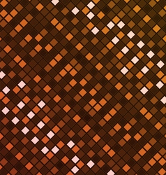 Orange digital texture vector image vector image