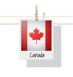 Photo of canada flag vector