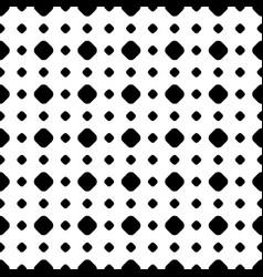 polka dot pattern in regular geometric grid vector image