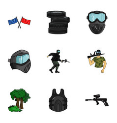 a collection of pictures about the game in vector image