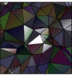 abstract polygon stained glass vector image