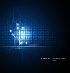 abstract technology circuit vector image