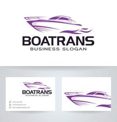 Boat trans vector