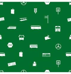 bus transport pattern eps10 vector image