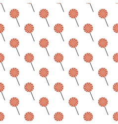 Candy pattern seamless vector