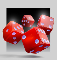 casino gambling template concept casino background vector image